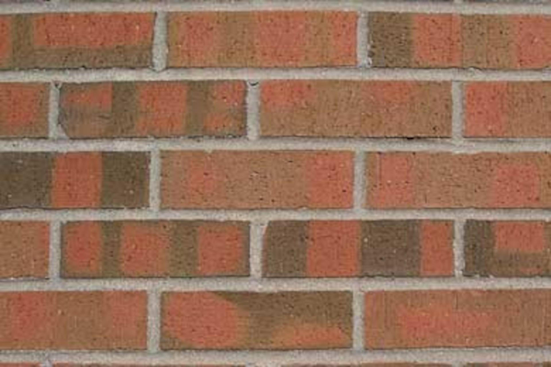 Red Flash Velour Modular Brick