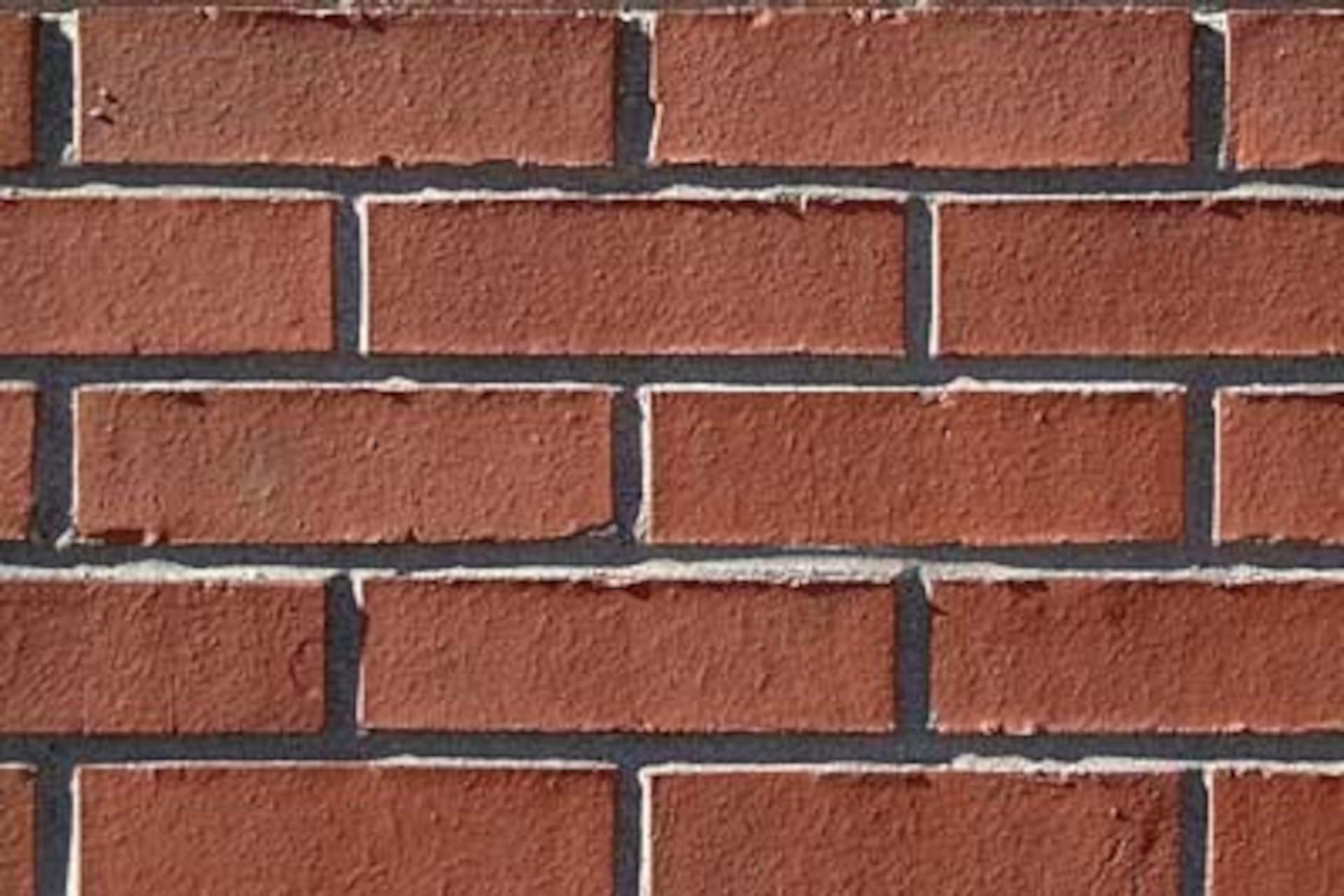 Red Smooth Modular Brick