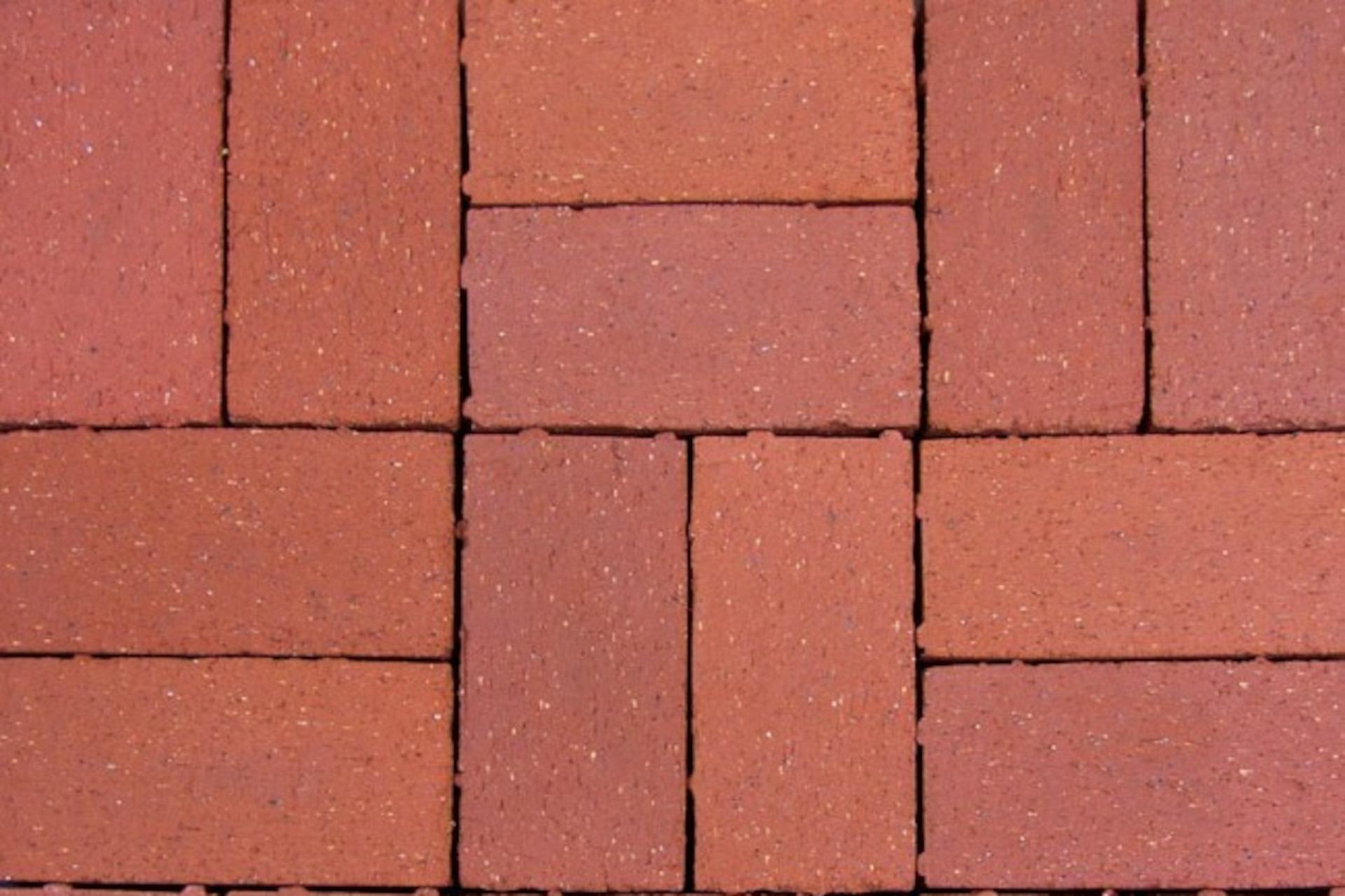 Sunset Red Brick Pavers