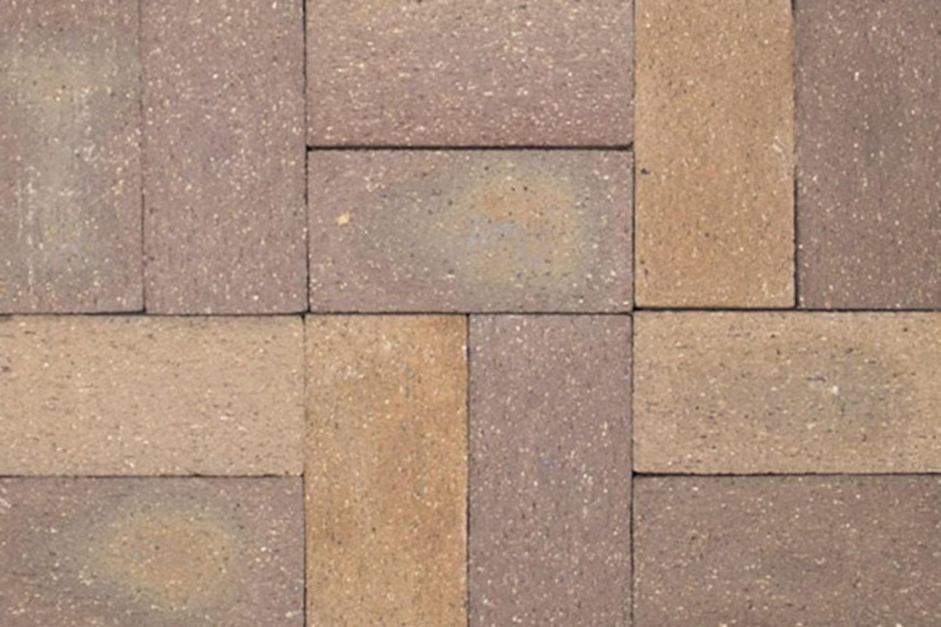 Taupe Stone Brick Pavers