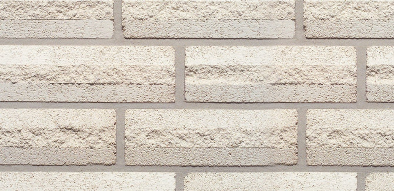 White Splitface Brick