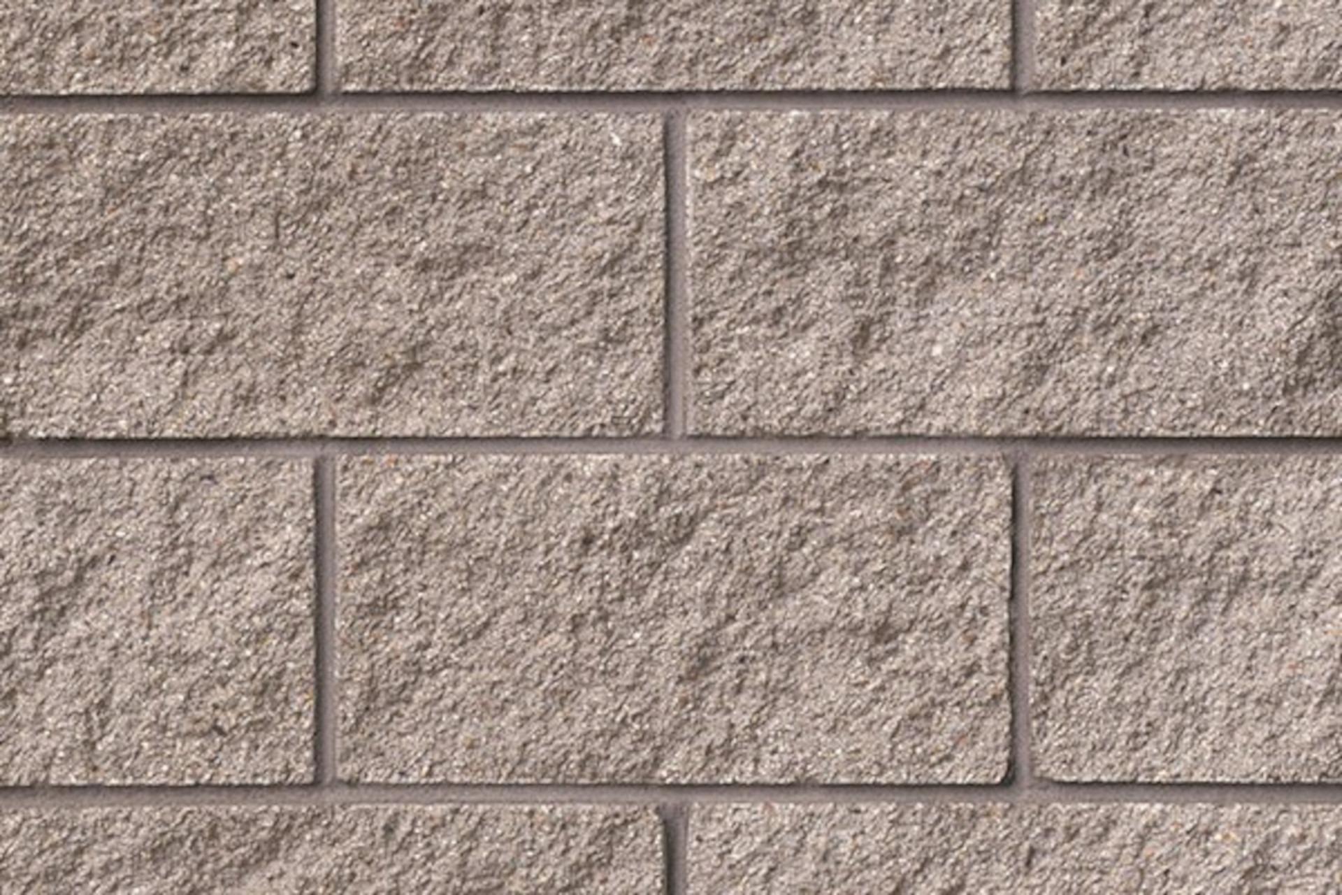 150 Dim Gray Concrete Block