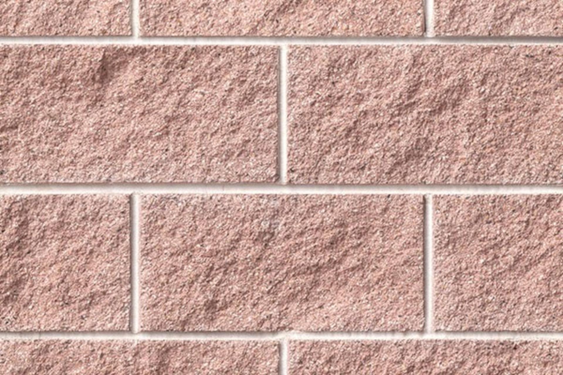 180 Pink Ruby Concrete Block