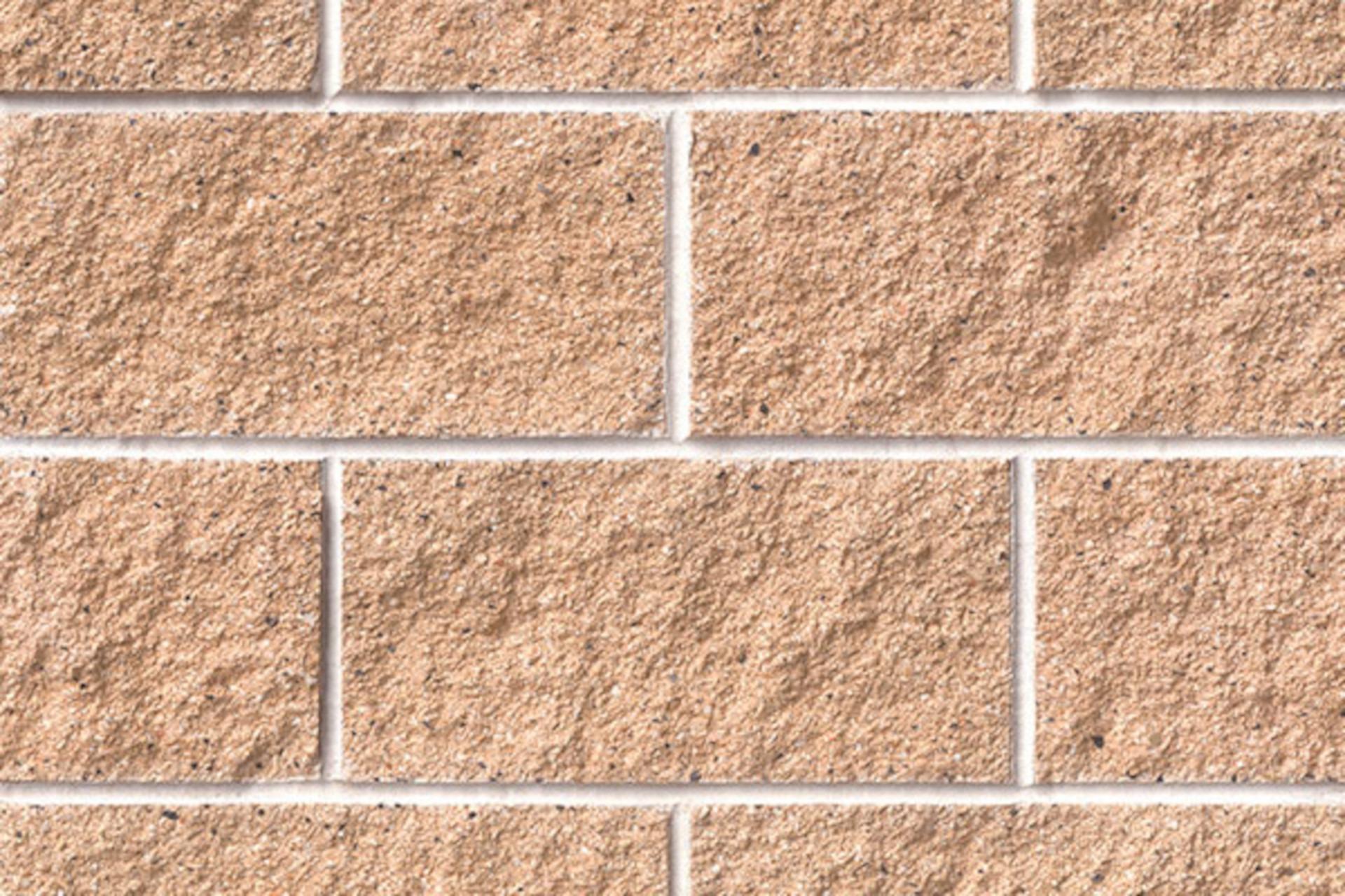 220 Sandy Brown Concrete Block