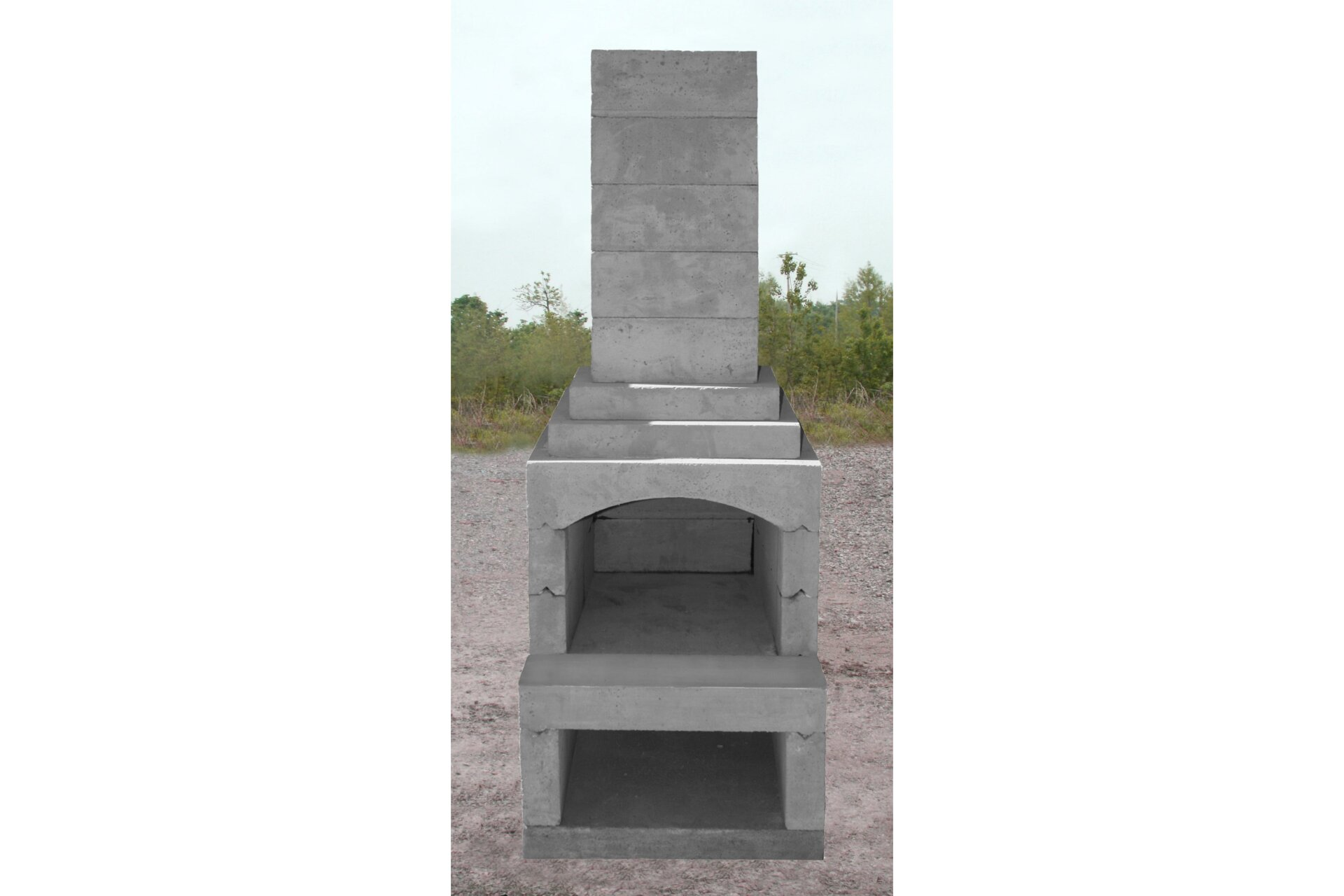 Veranda Series Masonry Fireplace Kit
