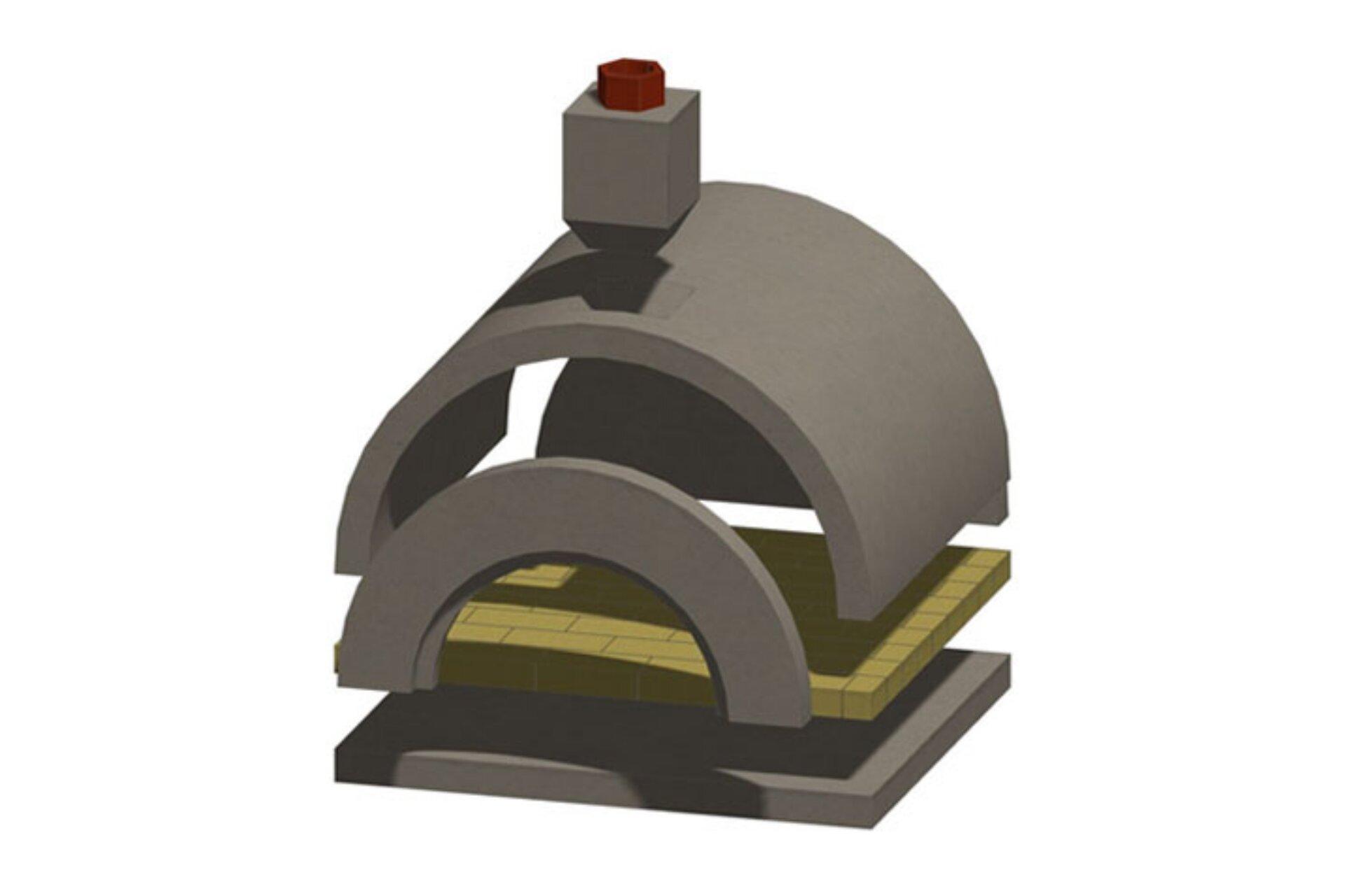 Amerigo Masonry Pizza Oven Kit