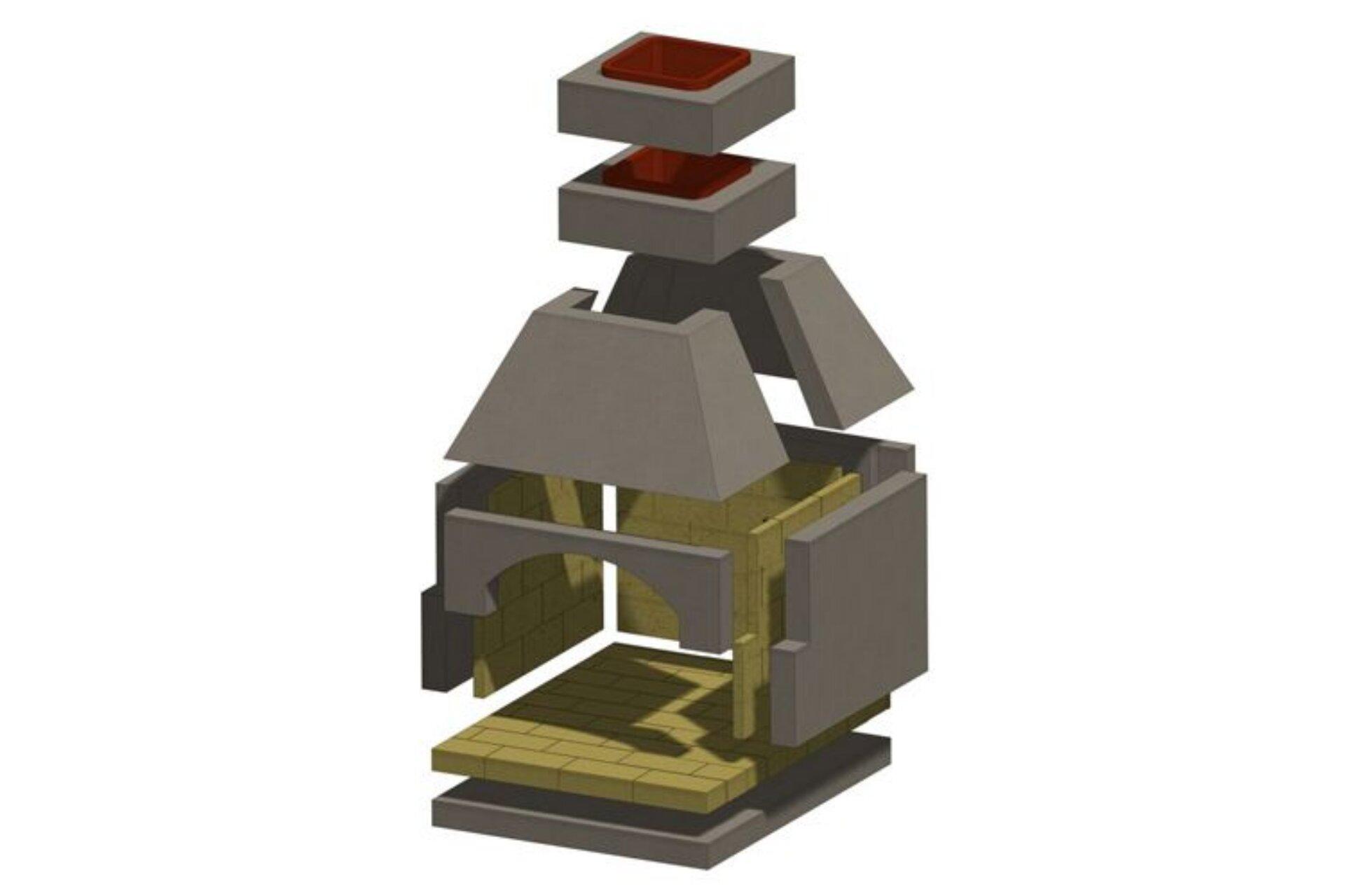 Brick Masonry Pizza Oven Kit