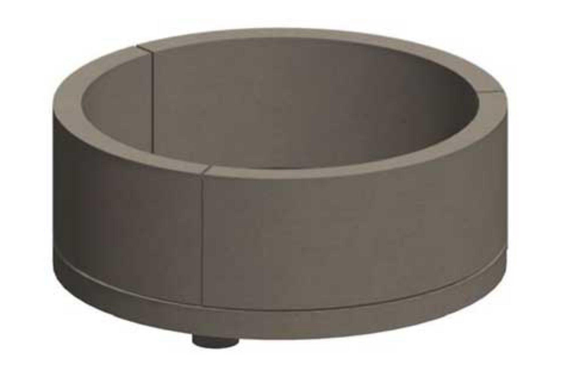 Large Round Masonry Fire Pit Kit