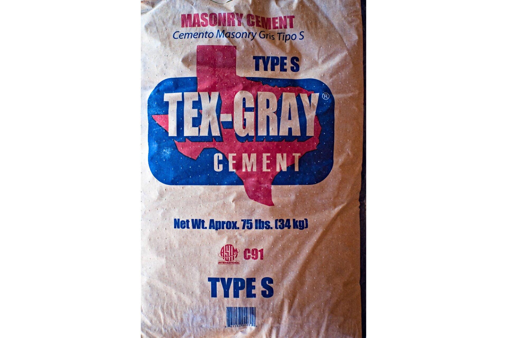 Tex-Gray Masonry Cement
