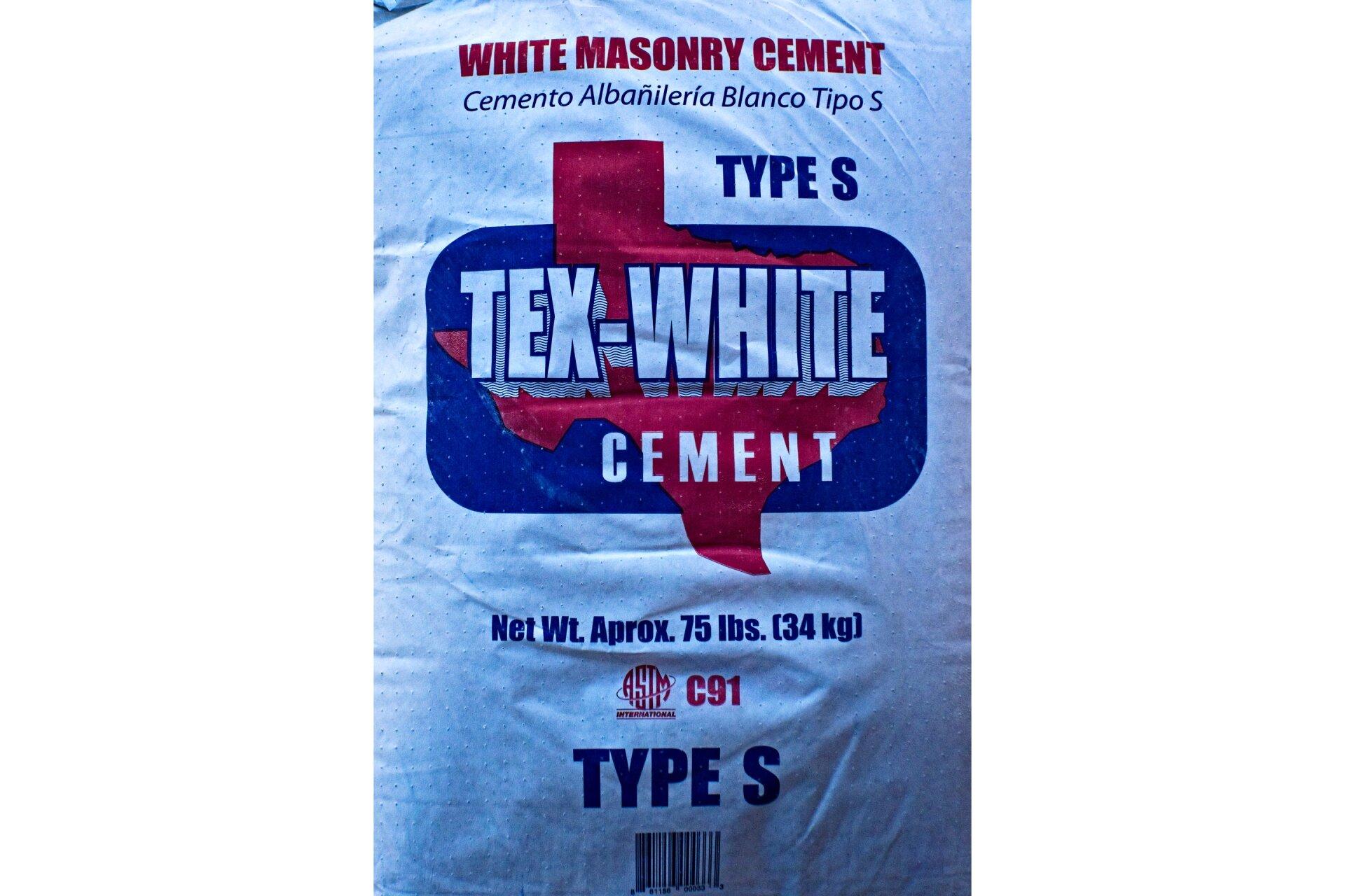 Tex-White Masonry Cement