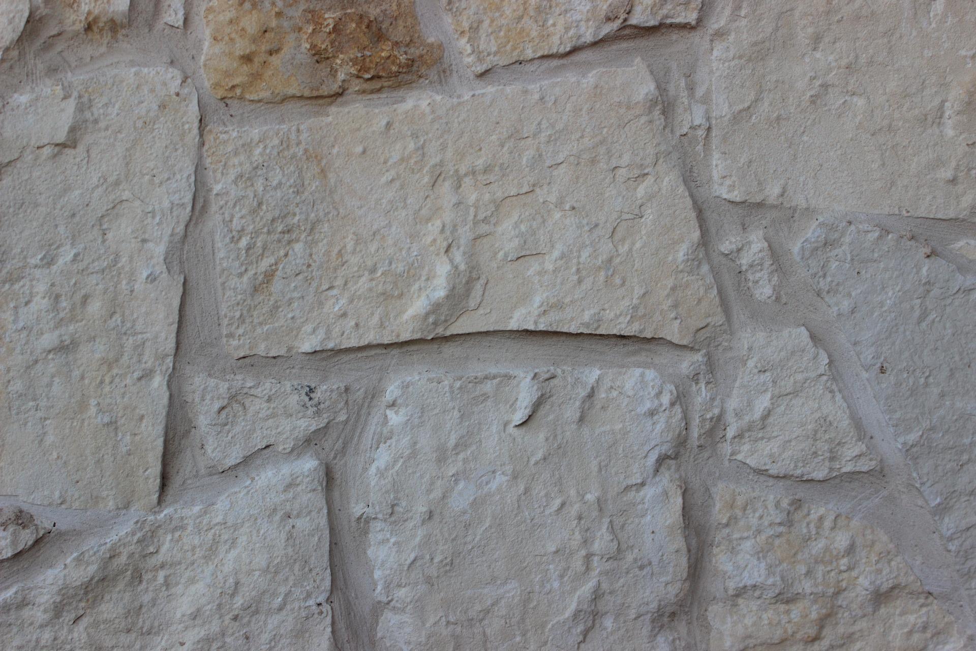 White Random Stone